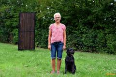 Birgit mit Holly
